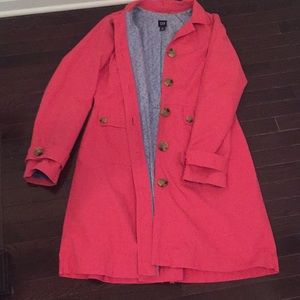 GAP lined Trench Coat.